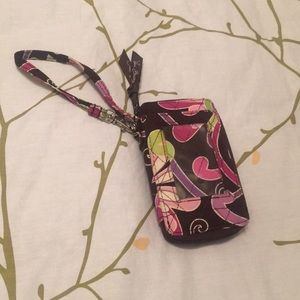 Vera Bradley ID wallet with lots of pockets